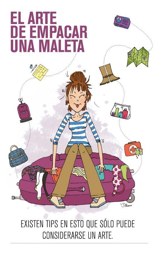 El arte de empacar una maleta #DíaMundialDelTurismo: