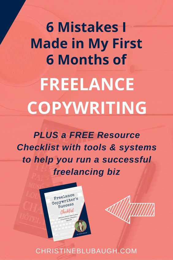 If youu0027re a new or aspiring freelance copywriter, then this post - entrepreneurial success checklist