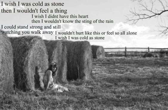 Cold As Stone- Lady A