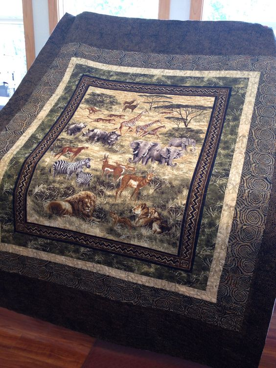 Panel Quilts Africans And The Panel On Pinterest