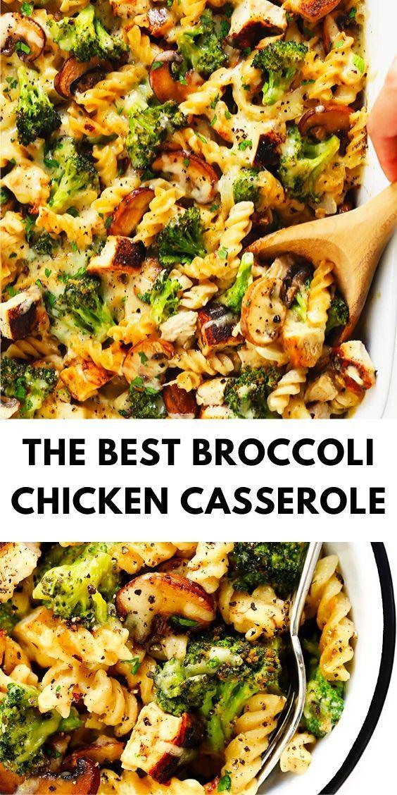 The Best Broccoli Chicken Casserole