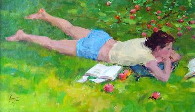 Hettinger, David (1946-...) Under the appletree