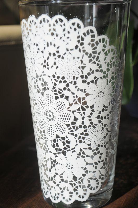 décoration d'un vase