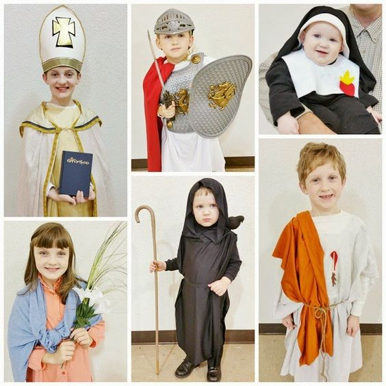 Catholic All Year: Over 150 All-Saints Day Costumes for Kids