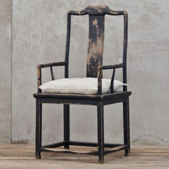 Chinese carver chair, from the Country Trader. Melissapenfold.com | Style For You And Your Home