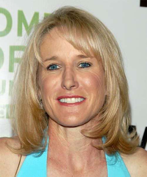 Tracy Austin Hairstyle  last