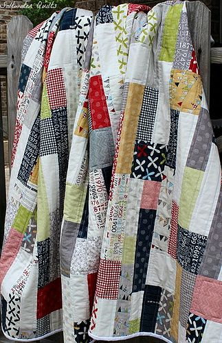 Double Stacked Reunion Quilt..Sweetwater Quilts: