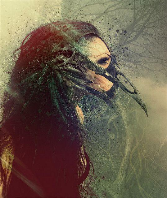 Raven queen by ultradialectics amsterdam, via Flickr