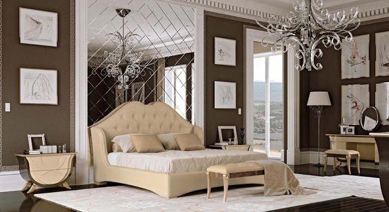 Dormitorio Art Déco de lujo Ópera