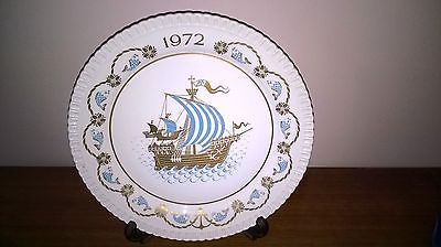Spode #christmas #plate - 1972 - i saw three ships come sailing - #collectable vg,  View more on the LINK: 	http://www.zeppy.io/product/gb/2/232128251502/
