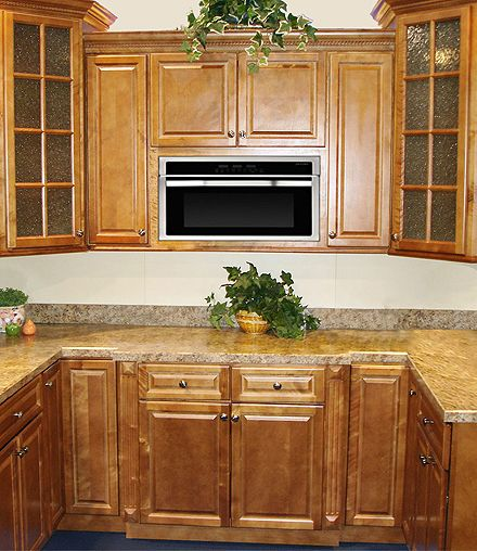 Spice Maple Kitchen & Bathroom Cabinet Gallery - Spice Maple from Kitchen Cabinet Kings.