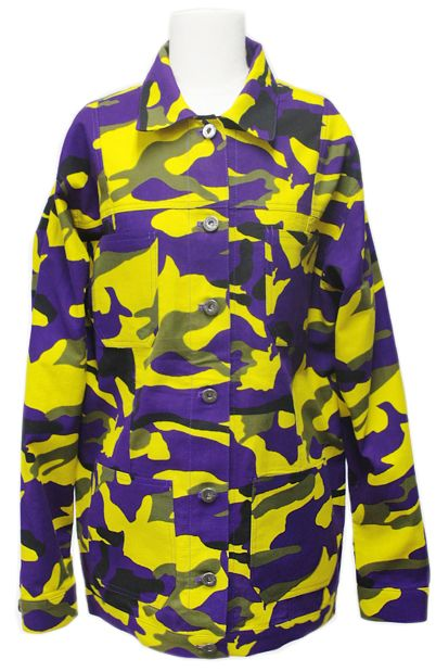 Camouflage Jacket (2 Colors) | Fall & Winter | Dolly & Molly | www.dollymolly.com | #mustard #yellow #purple #mystery #military #camouflage #jacket #outer #topshop #fashion #stylish
