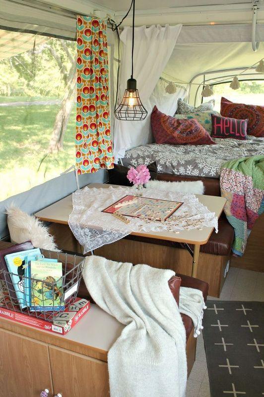 10 Best Rv Camper Interior Lights Ideas Pop Up Camper Camper Decor Camper