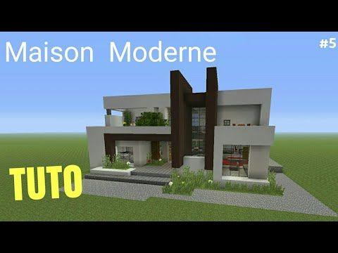 Tuto Minecraft Maison Moderne 5 Ps4 Ps3 Xbox360 Xboxone Psvita