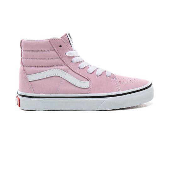 Acostumbrar Lionel Green Street Instituto  Zapatillas de niños Sk8-Hi (4-8 años) | Rosa | Vans | Zapatillas de niñas,  Zapatillas, Calzas