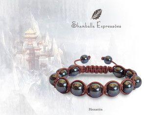 Shamballa - Hematita As Shamballas Expressões convidam você para o despertar da força criadora que habita seu ser.