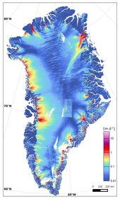 One of Greenland's glaciers is losing five billion tonnes of ice a year to the ocean, according to researchers. While these new findings may be disturbing, they are reinforced by a concerted effort to map changes in ice sheets with different sensors from space agencies around the world.
