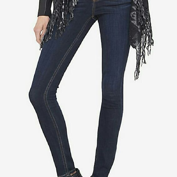 Express high rise jean legging
