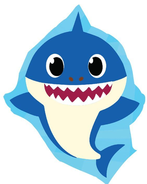 Stikcers Para Imprimir Baby Shark Fiesta De Tiburon Temas De