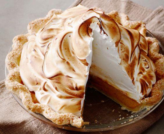 Pumpkin Meringue Pie | The Pioneer Woman. Making this for halloween