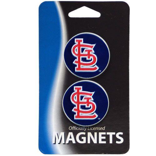 St. Louis Cardinals Metal Magnet Set