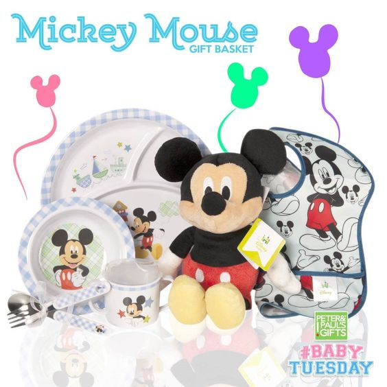 Mickey Mouse Gift Basket!