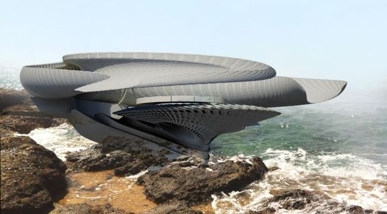 Hydroelectric Tidal House