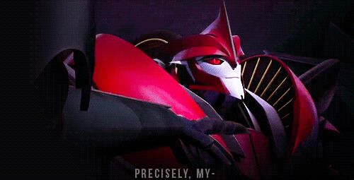Oh, when Starscream blames Knock Out XD (Animated GIF) ... any GIFs of Knock Out Must go on board!