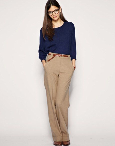 My Top 5: Wide Leg Trousers : Lucky Magazine