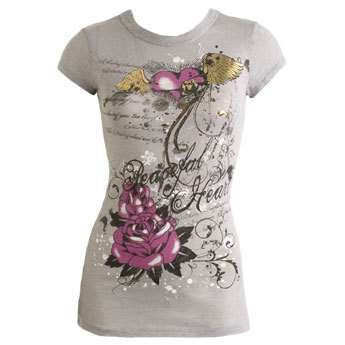 wet seal graphic tees | One of Wet Seal's pretty graphic tees.