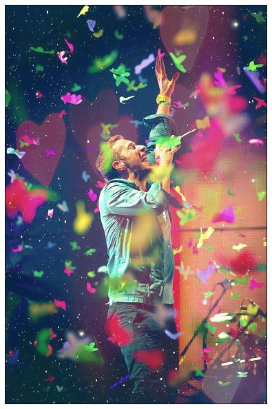 Coldplay. Their concert was amazing, and I love their music! The songs they sing, and how they sing it reflects life perfectly.(see u when I see u ;):