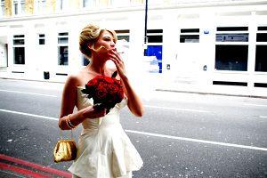 vivienne westwood bridal dress - hearts on fire wedding photography london