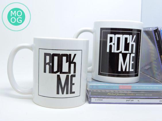 Caneca Mug Estúdio Rock Me MOOG