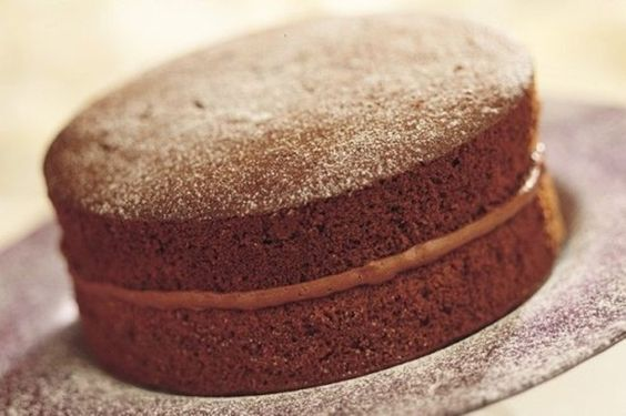Chocolate Victoria Sponge Cake - A wonderful classic recipe.