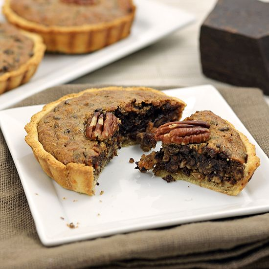 Pecan tarts, Paleo chocolate and Pecans on Pinterest