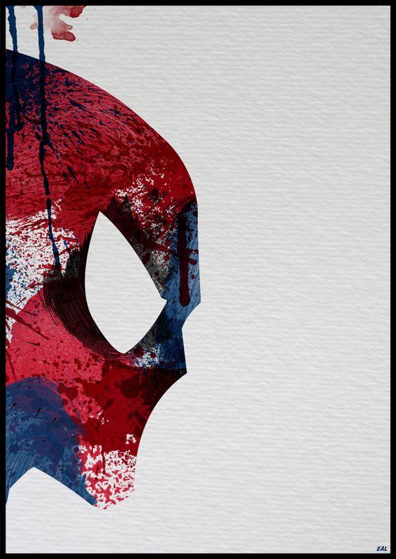 Spiderman - Super Heroes: Painted by Arian Noveir