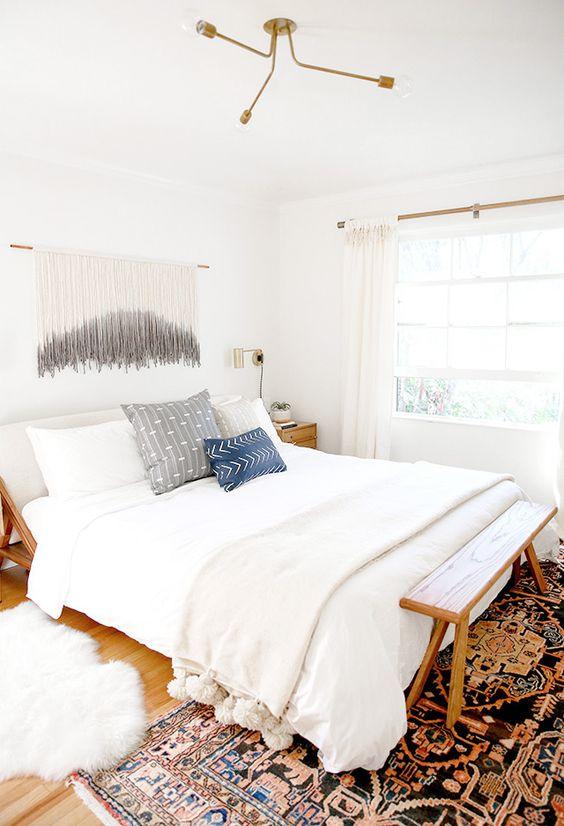 Sarah Sherman Samuel:master bedroom / nursery nook makeover | Sarah Sherman Samuel: