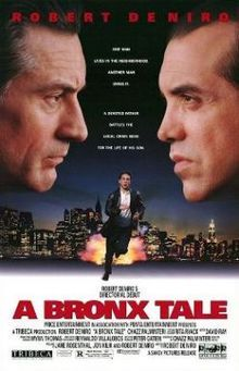 """Robert DeNiro made his Directorial Debut in 1993 with """" A BRONX TALE """" and it was a hit, with the music and the detail of the late 50's and early 60's it was truly a Masterpiece !"""
