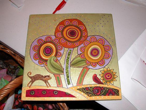 Interesting wood & fabric art -- Telamadera Fusion