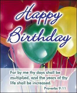 Christian happy birthday wishes: