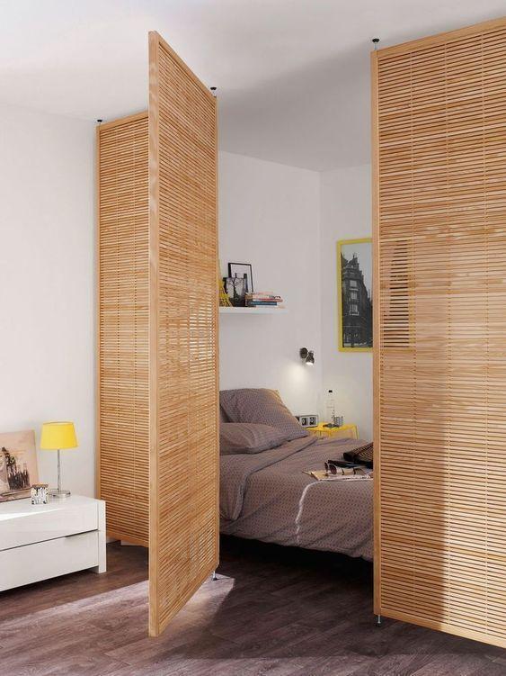 Come Dividere Una Stanza Senza Pareti.Come Dividere Una Stanza In Due Soluzioni Per Separare Spazi Senza Muri Monolocale Decorazione Arredamento Parete Amovibile