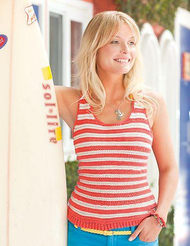 Ravelry: Surfer Girl Tank pattern by Beth Nielsen