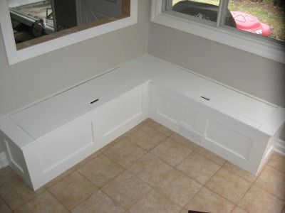 Kitchen Nook Bench Storage Benches And Not Interested On Pinterest