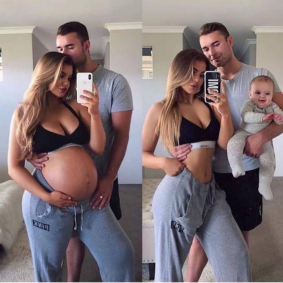 Фото-коллаж беременности | First-time-mama.ru