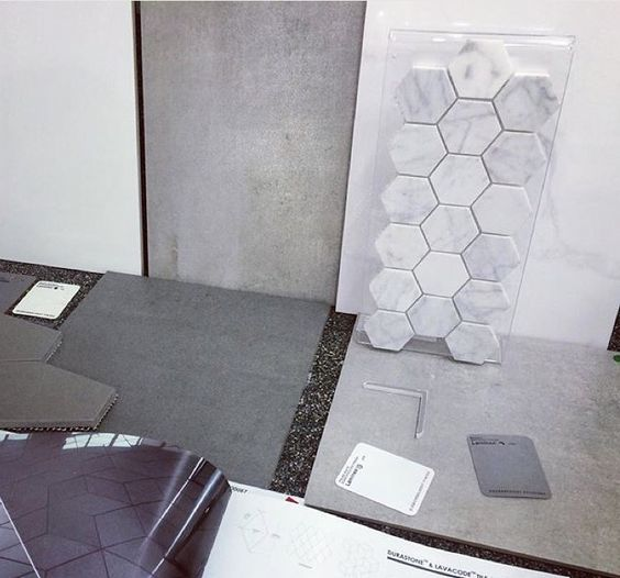 Beaumont Tiles Selection Grey Love The Hexagon Details Bathroom Pinterest The O 39 Jays