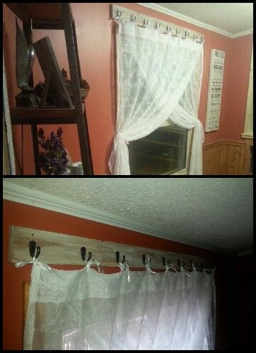 Curtains in dinning room