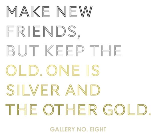 Make new friends...