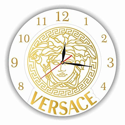 Art Time Production Fba 1 Versace 11 Handmade Wall Clock Get Unique Decor For Home Or Office Best Handmade Wall Clocks Handmade Leather Journal Handmade