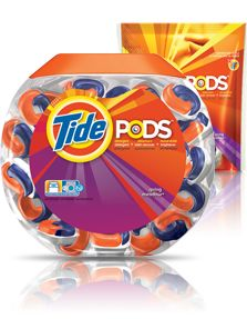 Tide Pods Detergent my laundry smells so much nicer since using these