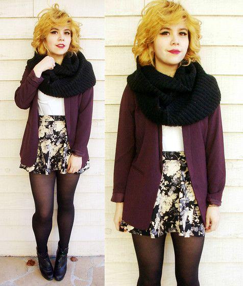 Sheinside Skirt, H&M Blazer
